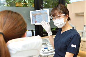 治療内容等に関する説明は、全スタッフが可能であります。