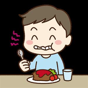 周囲を不快にさせる食事中の咀嚼音