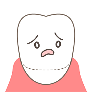 歯ぎしりによる歯周病の進行