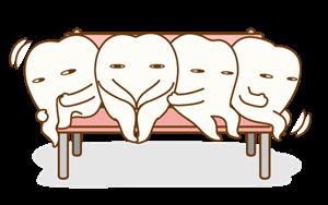 狭い顎では歯は並べない